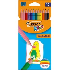 BIC KIDS TROPICOLORS CF.12 MATITE COLORATE