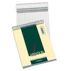 BLASETTI ARISTON BLOCK NOTES CON SPIRALE A6 QUADRETTO 5MM CF.10