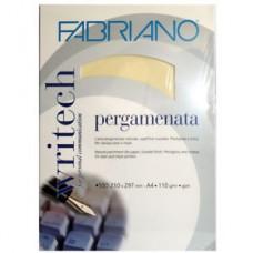 FABRIANO CARTA PERGAMENATA A4 AVORIO 50 FOGLI 110GR