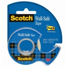 3M MAGIC 811 NASTRO ADESIVO RIMOVIBILE SCOTCH WALL-SAFE 19X16,5 MT.