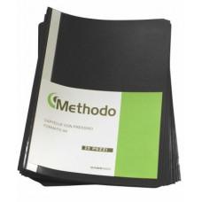 METHODO CARTELLA CON PRESSINO 22*33 - CF.25 CARTELLE NERO