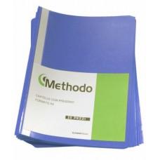 METHODO CARTELLA CON PRESSINO 22*33 - CF.25 CARTELLE BLU