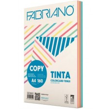 FABRIANO COPY TINTA A4 160GR COLORCARD 5 COLORI TENUI 100 FOGLI