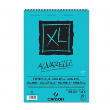 CANSON ALBUM XL AQUARELLE A3 SPIRALATO 30FF 300GR.