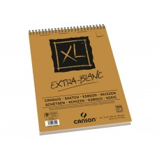 CANSON ALBUM XL EXTRA BIANCO A4 SPIRALATO 120FF 90GR.