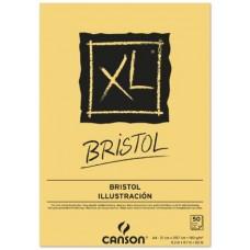CANSON BLOCCO XL BRISTOL A4 50FF 180GR. CARTA EXTRA LISCIA