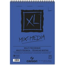 CANSON ALBUM XL MIX MEDIA A4 SPIRALATO 30FF 300GR.