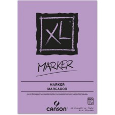 CANSON BLOCCO XL MARKER A4 100FF 70GR. CARTA SEMI TRASPASPARENTE