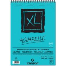 CANSON ALBUM XL AQUARELLE A4 SPIRALATO 30FF 300GR.