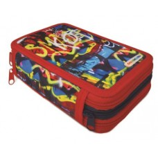 LEBEZ ASTUCCIO 3 ZIP STREET ART FANTASIE ASSORTITE