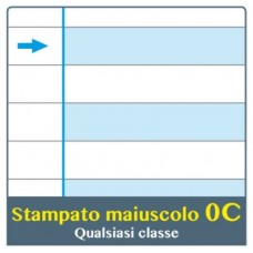ONE COLOR QUADERNO PER DISGRAFICI MAXI C 100GR CONF.6