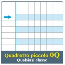 ONE COLOR QUADERNO DIDATTICO MAXI Q 100GR CONF.6