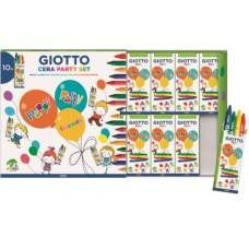 GIOTTO CERA PARTY SET CONF.10 ASTUCCI