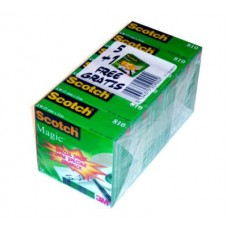 3M SCOTCH MAGIC 19*33 PROMO PACK 6PZ CON 1 OMAGGIO