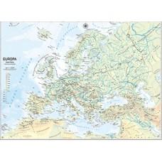 CARTA MURALE 132*99CM EUROPA