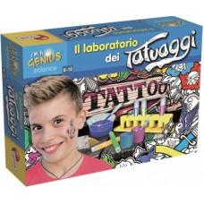 I'M A GENIUS LABORATORIO TATUAGGI