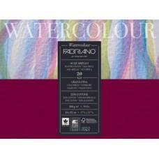 FABRIANOACQUARELLO WATERCOLOUR BLOCCO GRANA FINA 20FF 24*32 200GR