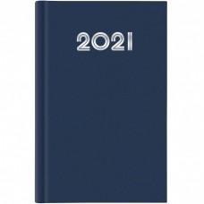 AGENDA 2021 GIORNALIERA 14.5X20.5 S/D SEPARATI GOMMATO BLU