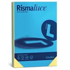 FAVINI RISMALUCE MIX 6 COLORI FORTI 140GR A3 RISMA 200FF.