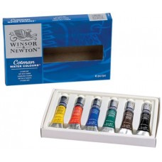 WN COTMAN ACQUARELLO FINE SET 6 TUBI 8ML COLORI ASSORTITI