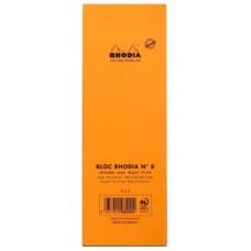 RHODIA BLOCCO NOTE N.8 7.4*21CM 5MM 80GR CONF.10