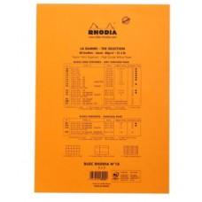 RHODIA BLOCCO NOTE N.18 A4 21*29.7CM 5MM 80GR CONF.5