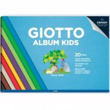 GIOTTO-ALBUM KIDS A4 COLORATO 20FF.-120GR.