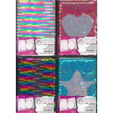 VIRCA MAGIC PAILLETTES DIARIO AGENDA A6 12 MESI 320 PAGINE