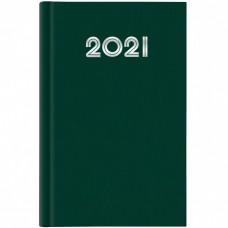 AGENDA 2021 GIORNALIERA 14.5X20.5 S/D SEPARATI GOMMATO VERDE