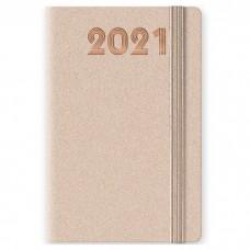AGENDA 2021 GIORNALIERA 14.5X20.5 CON ELASTICO DYNALUX COLORI ASSORTITI
