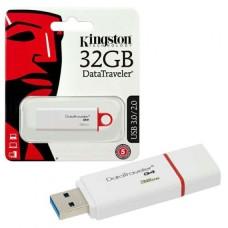 KINGSTON PEN DRIVE CHIAVETTA USB 32GB USB 3.1 BIANCO