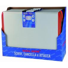 LAVAGNA BIANCA MAGNETICA  28X43 CM BIANCA CON PENNARELLO INCLUSO