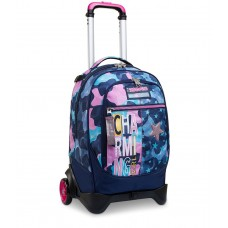 TROLLEY STACCABILE JACK SEVEN 2 RUOTE CHARMING GIRL