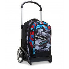 SEVEN TROLLEY STACCABILE TYRE  CHALLENGE BOY