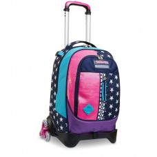 SEVEN TROLLEY STACCABILE JACK 3WD  PINKING BLUE