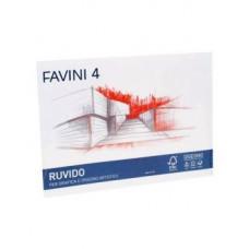 FAVINI 4 ALBUM DISEGNO 24X33 RUVIDO 220 GR