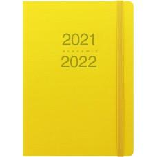 LETTS ACADEMIC DIARIO 2021 2022 F.TO A5 CON ELASTICO COLORI ASSORTITI