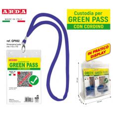 ARDA CUSTODIA GREEN PASS CON CORDINO - 30 PZ