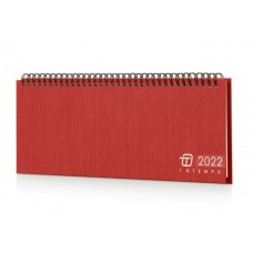 PLANNING 2022 SETTIMANALE CHARLIE 30X10 ROSSO