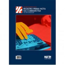 REGISTRO PRIMA NOTA IVA E CORRISPETTIVI 13X2 AUTORICALCANTE